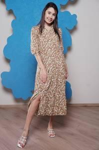Платье длинное с принтом Ч1181