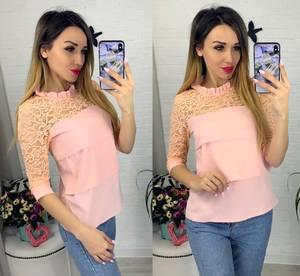 Блуза с коротким рукавом Я0633