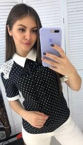 Блуза с коротким рукавом Я3327