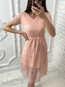 Платье короткое нарядное Я4820