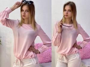 Блуза с длинным рукавом Я7777