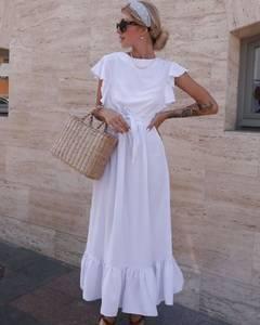 Платье длинное летнее А01532