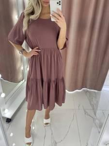 Платье короткое летнее А37875