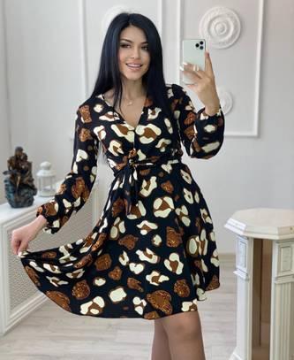 Платье короткое нарядное А30656