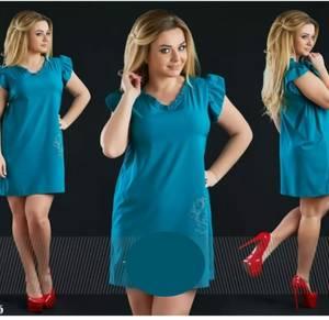 Платье короткое летнее А39131