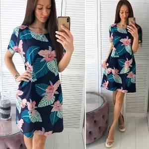 Платье короткое летнее Ч4443