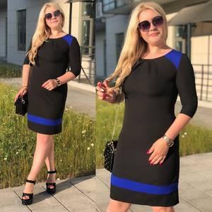 Платье короткое черное Ш0077