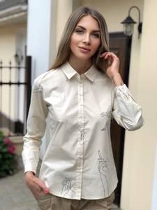 Рубашка с длинным рукавом Ш0797