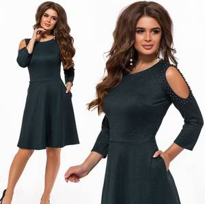Платье короткое современное Ю2544