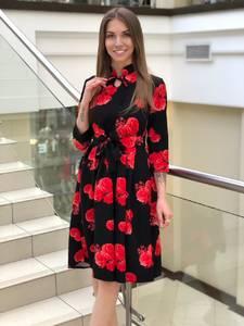 Платье короткое нарядное Ю4134