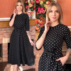 Платье короткое современное Ю6496