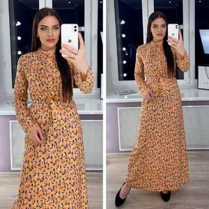 Платье длинное нарядное Я0454