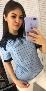 Блуза с коротким рукавом Я3328