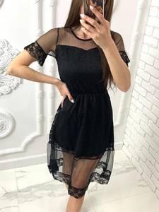 Платье короткое нарядное Я4821
