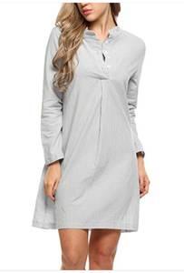 Платье короткое с длинным рукавом Я5692