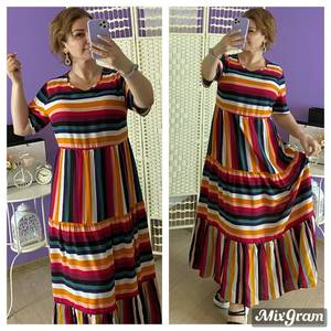 Платье длинное летнее Я6796
