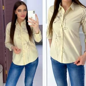 Рубашка с длинным рукавом Я6965