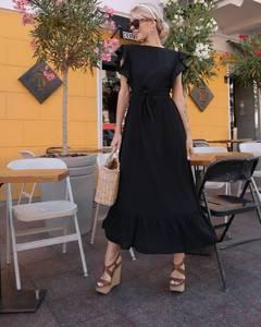 Платье длинное летнее А01533