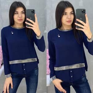 Блуза с длинным рукавом А07652