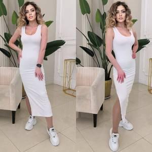 Платье длинное летнее А26209