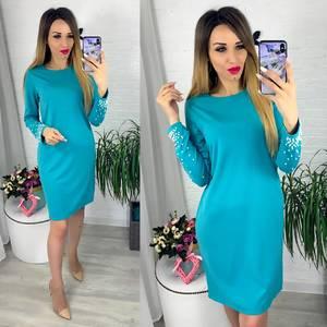 Платье короткое современное Ю6404