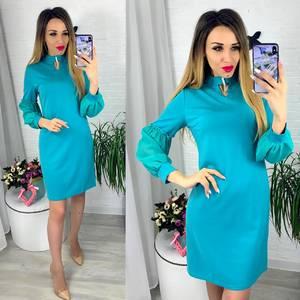 Платье короткое современное Ю6405