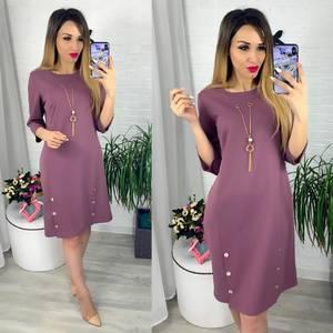 Платье короткое современное Ю6408