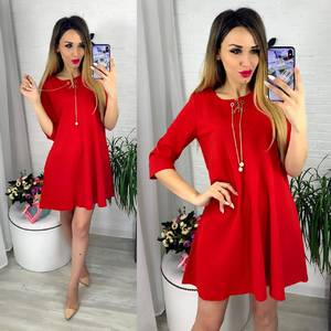 Платье короткое современное Ю6409