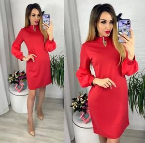 Платье короткое современное Ю6411