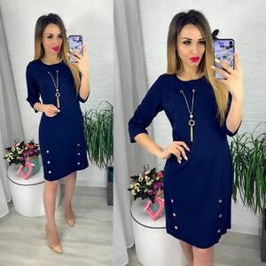 Платье короткое современное Ю6412