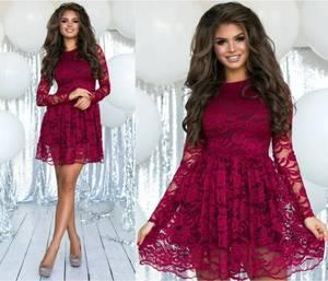 Платье короткое нарядное А57310