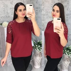 Блуза для офиса Ч4399