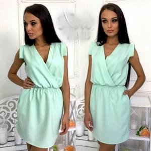 Платье короткое современное Ч4410