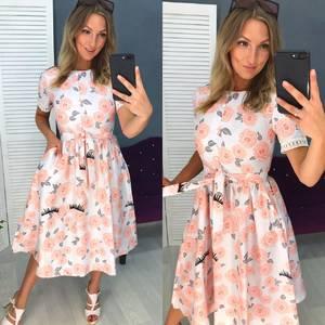 Платье короткое современное Ч4421