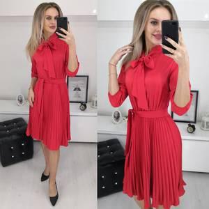 Платье короткое однотонное Ш1728