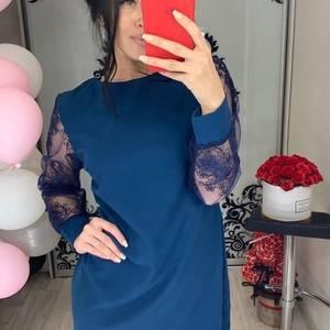 Платье короткое нарядное Ш2040