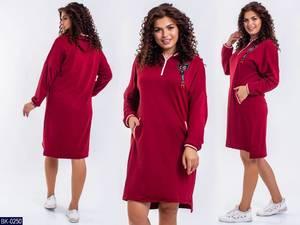 Платье короткое с длинным рукавом Ш2974