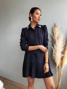 Платье короткое нарядное Ш8007