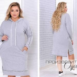 Платье короткое с длинным рукавом Ш8130