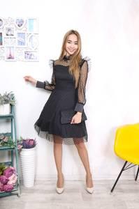 Платье короткое нарядное Ш8387