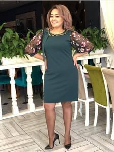Платье короткое нарядное Ш9008