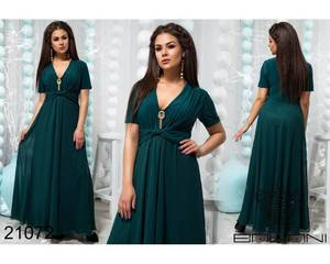 Платье длинное нарядное Ю0401