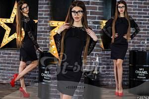 Платье короткое нарядное Ю4086