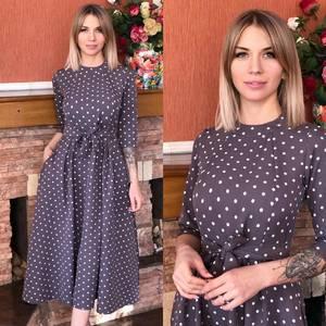Платье короткое современное Ю6497