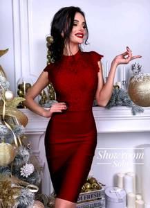 Платье короткое облегающее Ю7589