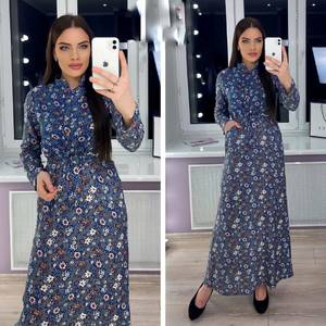 Платье длинное нарядное Я0455