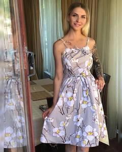 Платье короткое летнее Я1481