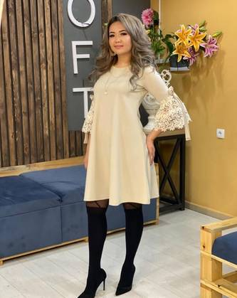 Платье короткое нарядное Я1532