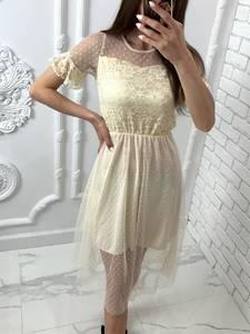 Платье короткое нарядное Я4822