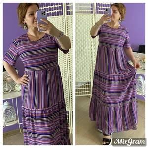 Платье длинное летнее Я6797